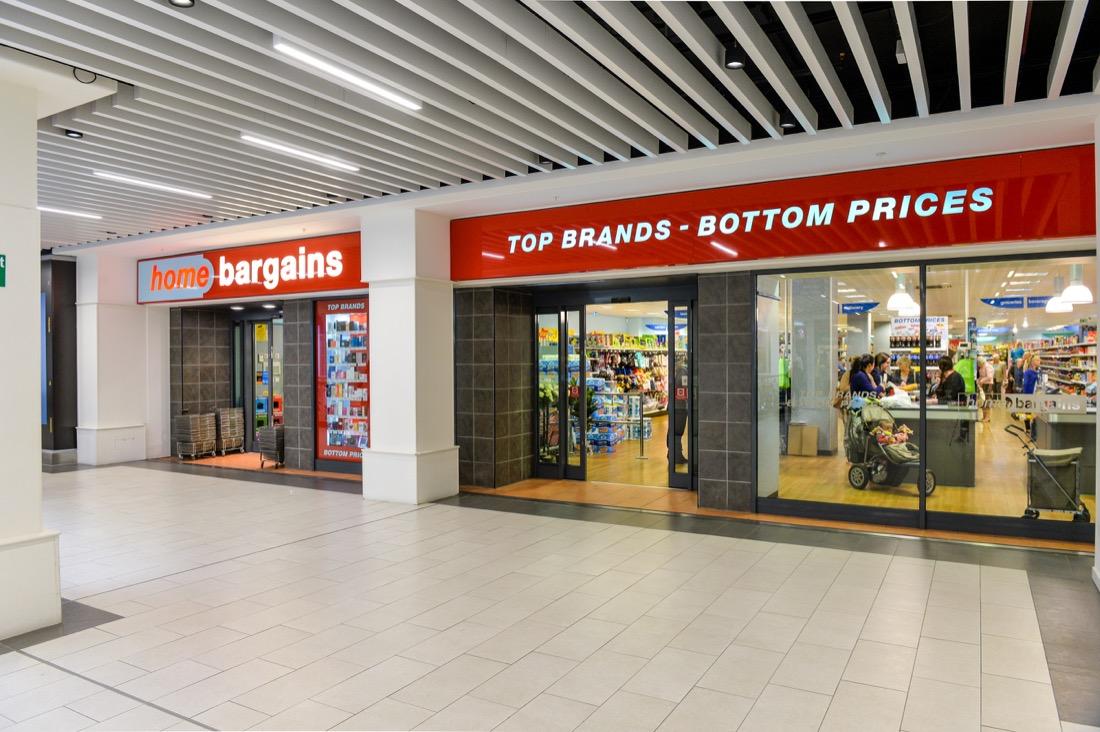 Home Bargains Shrewsbury Shopping