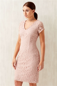 Rose V-Neck Lace Dress, Roman, £25