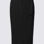 M&S Black Pencil Skirt