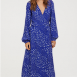 2. Cornflower Blue/Floral Patterned Wrap Dress, H&M2. Cornflower Blue/Floral Patterned Wrap Dress, H&M