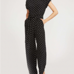 Oxford Spot Jumpsuit Laura Ashley