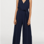 Navy Jumpsuit H&M