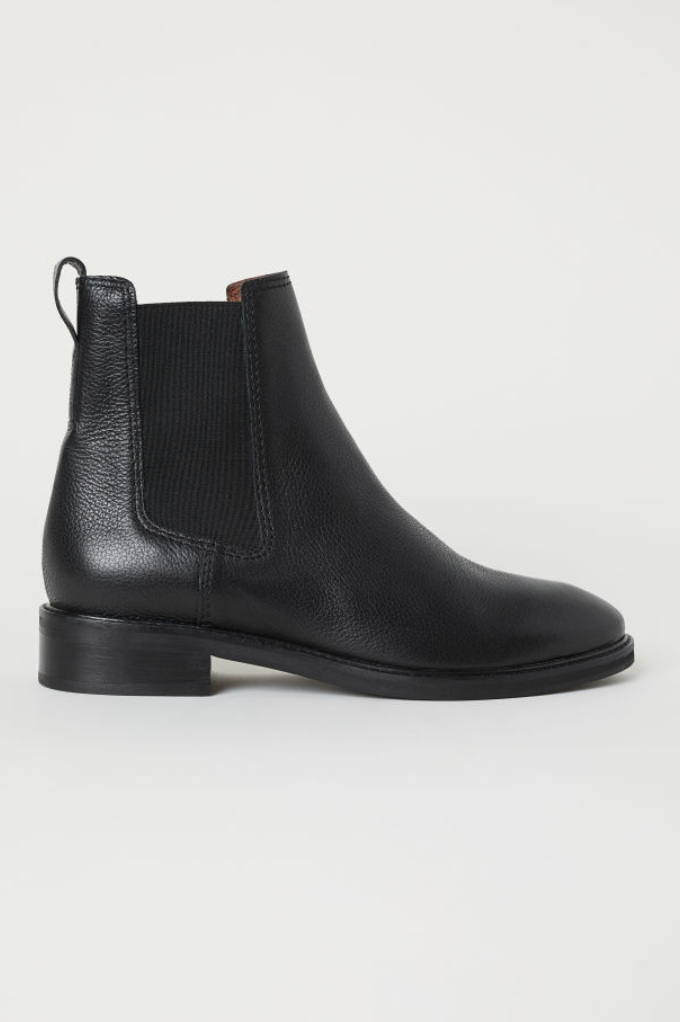 Leather Chelsea Boots, H&M, £49.99