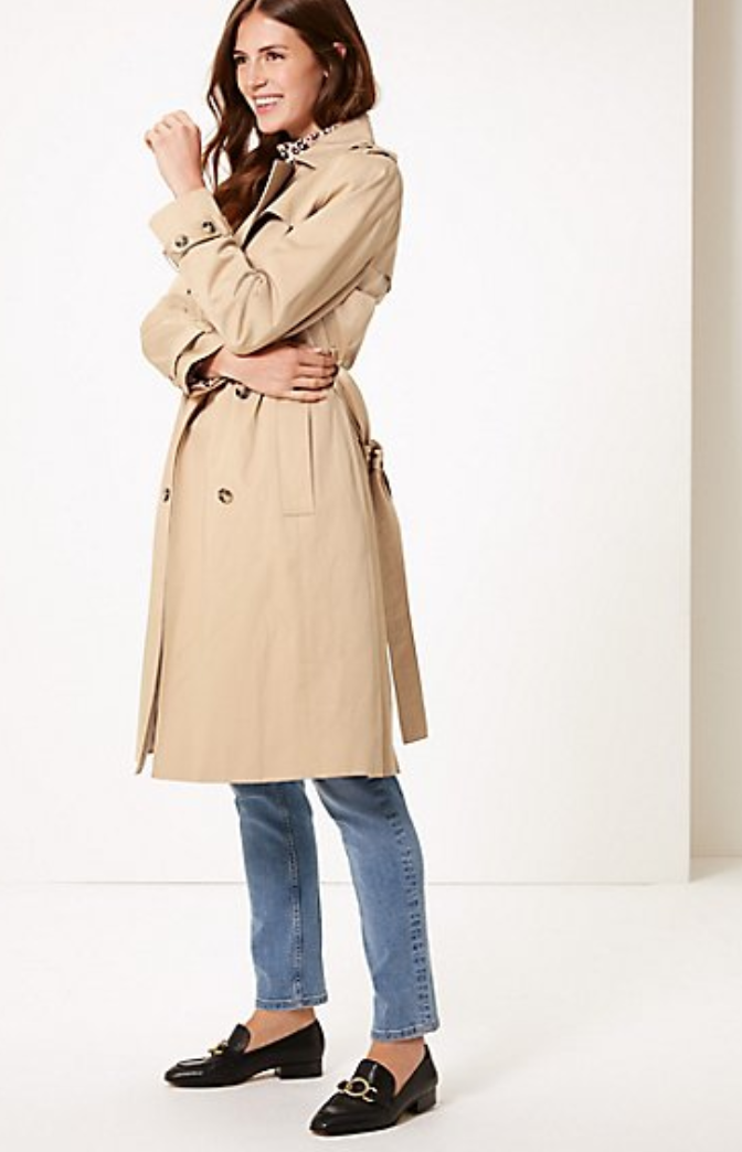Trench Coat, Marks and Spencer, £79