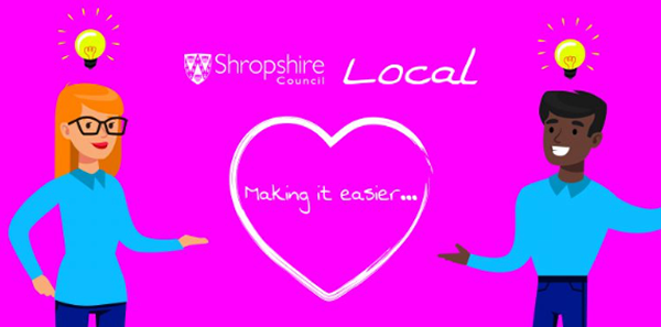 Shropshire Council Local Banner